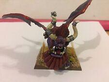 Chaos Dwarves Lammasu resin painted Infernal Dwarf Monster