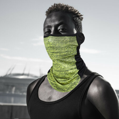 Neck Tube Scarf Bandana Head Face Cover Neck Gaiter Ear Loops Headwear US FREE