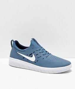 finest selection 61302 09f32 Image is loading Nike-SB-Nyjah-Free-Skate-Shoes-Thunderstom-White-