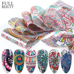 Printing-Geometry-Nail-Stickers-Manicure-DIY-Transfer-Decals-Retro-Nail-Foils