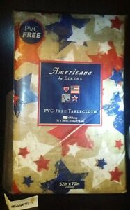 Image Is Loading AMERICANA BY ELRENE BLUE RED WHITE STARS ALLOVER