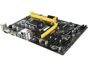 BIOSTAR H81A LGA 1150 Intel H81 SATA 6Gb/s USB 3.0 ATX Intel Motherboard for Cry