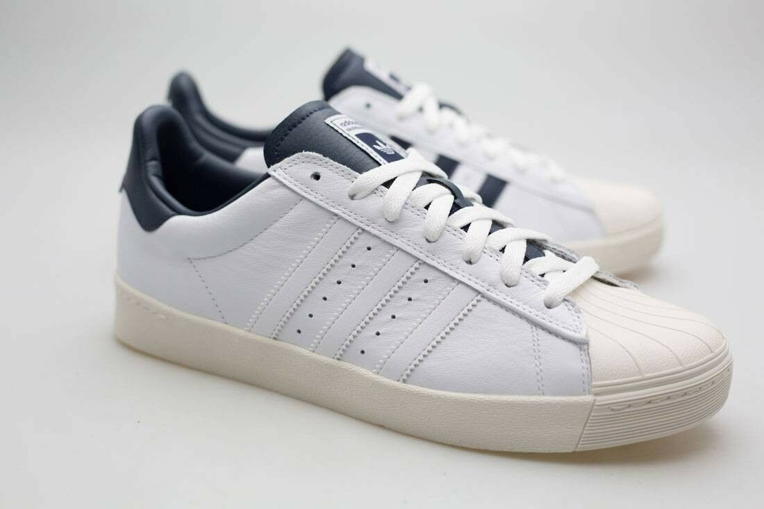Adidas Men Superstar Vulv ADV white footwear white collegiate navy B27392