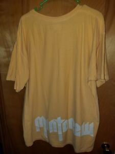 8a827a57 Used Mint Crew Boxy T Shirt Large Yellow streetwear not fear of God ...
