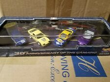 Hot Wheels Collectibles 30th Anniversary of the Camaro 4 Pack