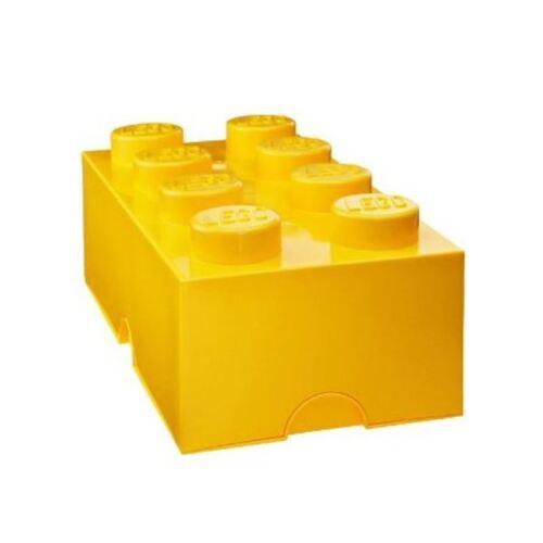 LEGO LUNCH//Boîte de rangement Jaune Kids Boîte Déjeuner École Officiel Neuf Gratuit P P