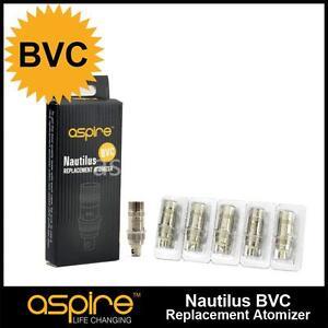 10 resistance Nautilus Aspire BVC Certifié Authentique - 0.7ohm/1.6ohm/1.8ohm