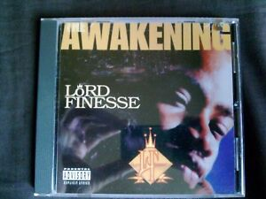 LORD-FINESSE-THE-AWAKENING-1995-ORIGINAL-OOP-CD-NEW-UNPLAYED-MINT-COPY-COLLECTOR