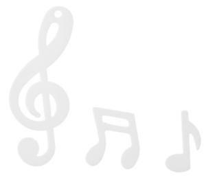 notenschlüssel konfetti streudekoration weiß musik notenschlüssel noten | ebay