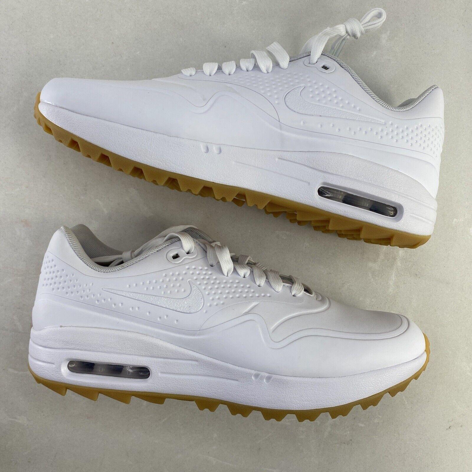 Size 9 - Nike Air Max 1 Golf White Gum
