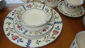 Nikko-Avondale-Dinnerware-Set-Service-for-8-Retired-Serving-Bowl-VGUC-41-pieces