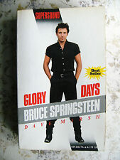DAVE MARSH: GLORY DAYS. BRUCE SPRINGSTEEN - PRIMA EDIZIONE ITALIANA 1988