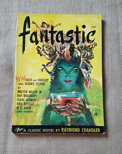 Fantastic-Summer-1952-Vol-1-No-1-Ray-Bradbury-Isaac-Asimov-pulp-magazine