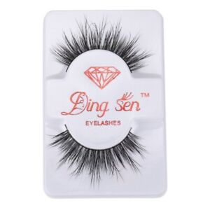 5X-DINGSEN-Natural-Thick-Eye-Lashes-Makeup-False-Fake-Eyelashes-Extension-U7D1