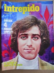En Herbe Intrepido N°25 1973 Claudio Desolati Speciale Mita Medici Lone Wolf [g389]