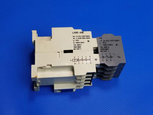 MwSt Luftschütz Leistungsschütz EAW LX00-40E AC-3 SX DDR SCHÜTZ Inkl