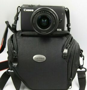 Fotocamera Canon EOS M10 mirrorless digitale + obiettivo 15-45 is stm + sd 16gb