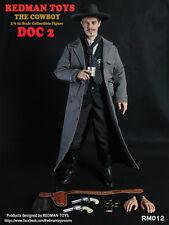 """Redman Toys RMT 1/6 Scale 12"""" Cowboy DOC 2 Action Figure RM012"""