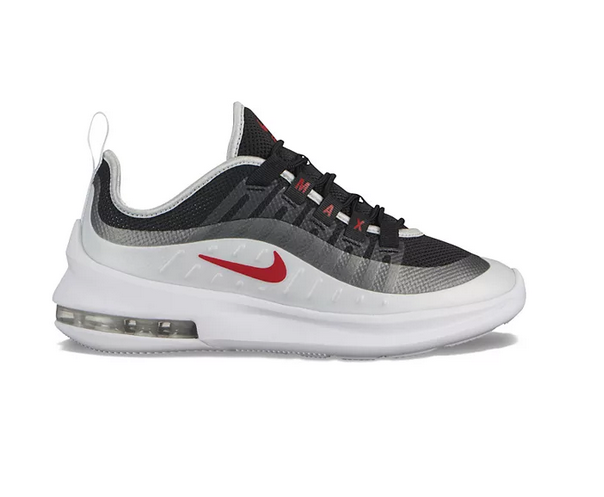 NEW Nike Air Max Axis Grade School Kids Athletic Shoes Szs 4,5,6 Black/Red/Grey