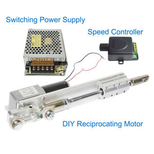 Details about DIY Design DC24V Reciprocating Motor+Switching Power  Supply+PWM Speed Controller