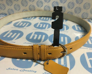 "Genuine Leather Belt 28mm X 120cm Long Pink Colour Size XL fit 40""-44"""