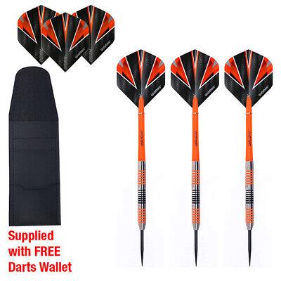 Tiger Jacks 90/% Tungsten Darts Set in 25gram Grooved Grip