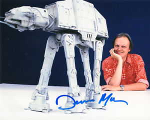 DENNIS-MUREN-SIGNED-8x10-PHOTO-ILM-SPECIAL-EFFECTS-MASTER-STAR-WARS-BECKETT-BAS