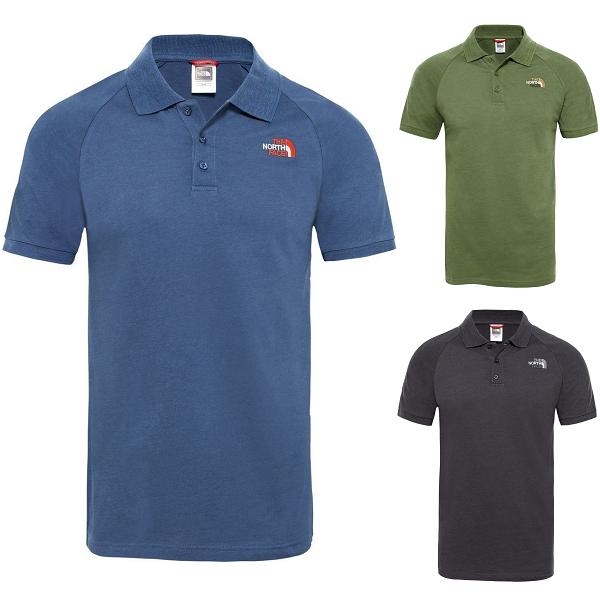 THE NORTH Gesicht TNF Raglan Jersey T-Shirt Kurzarm Poloshirt Herren Alle Größen