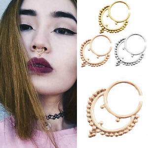 16g 1pc Ethnic Collar Hanging Indian Piercing Body Jewelry Septum