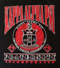 VTG.-KAPPA ALPHA PSI FRATERNITY INCORPORATED INDIANA UNIVERSITY T-SHIRT-LARGE