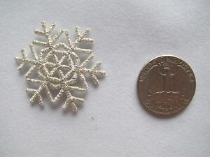 3020SS-Silver-Snowflake-Snow-Embroidery-Embroidery-Iron-On-Applique-Patch