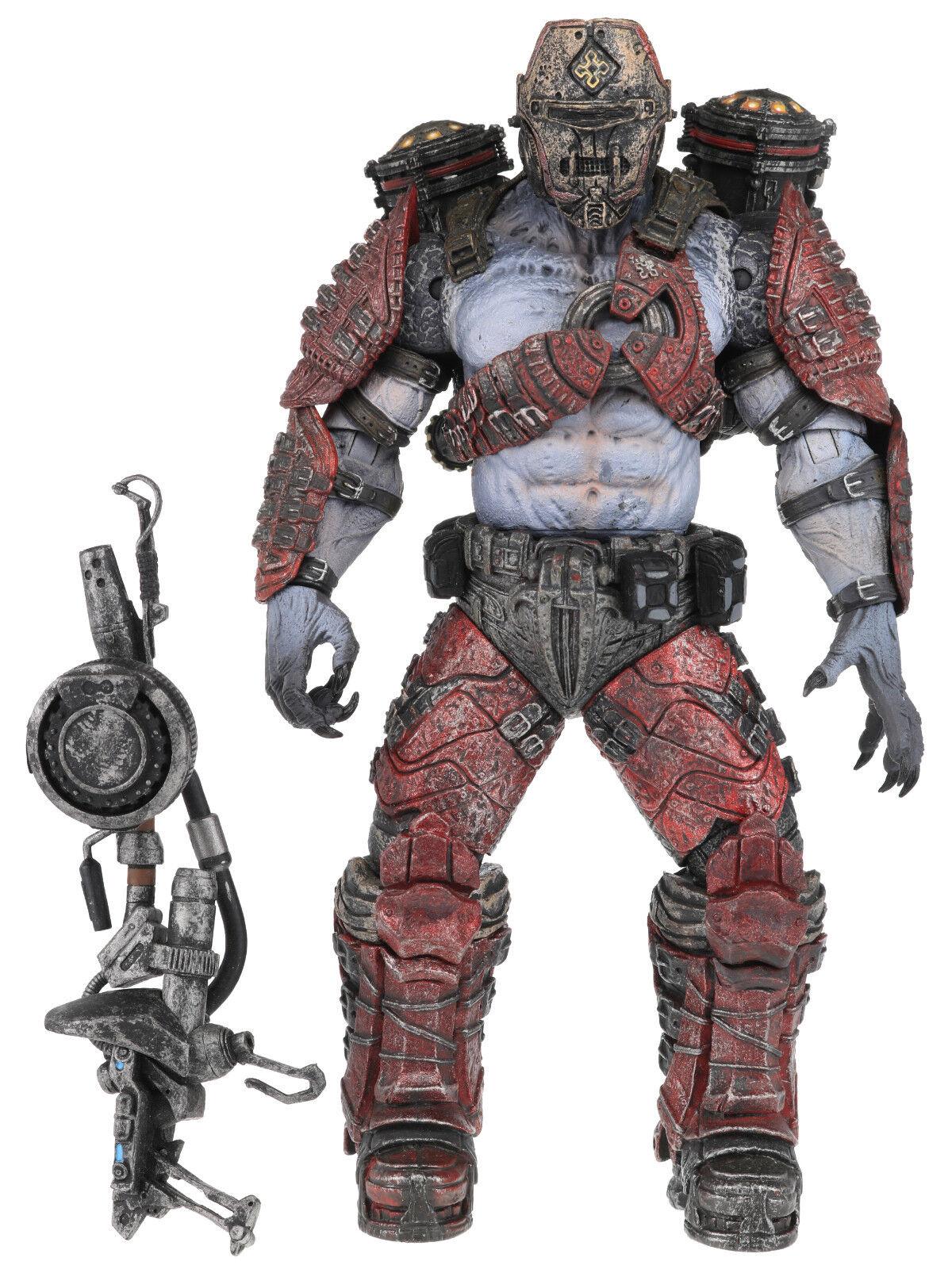 Gears of War GOW Series 4 GRENADIER FLAME THROWER Action Figure NECA 2009