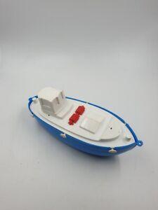 Boot-Plastic-Kunststoff-aus-der-DDR-Spielzeug-15-cm-Prefu-Anker-o-ae