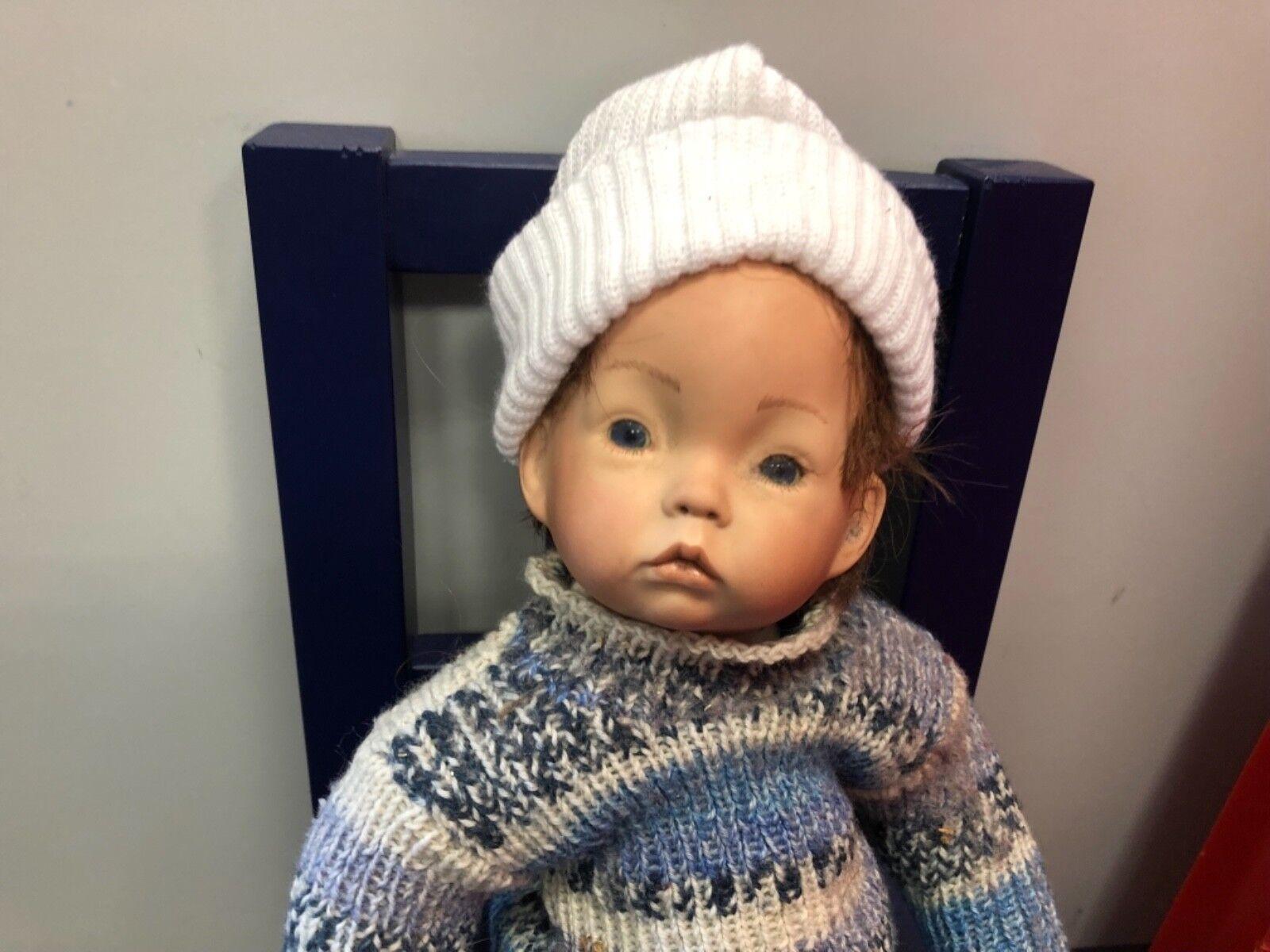 Puppe Aus Voll-porzellan! KÜnstlerpuppe Junge Titus Tomescu: Porzellanpuppe