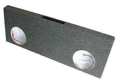 """R//T for 2000-2013 Ford F250 F350 Crew Cab 10/"""" x 2 Subwoofer Enclosure Truck Box"""