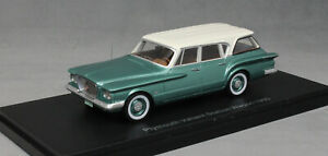 Neo-Models-Plymouth-Valiant-Station-Wagon-en-Verde-Metalico-1960-47115-1-43-Nuevo