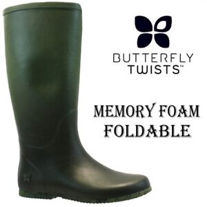 4c907d0a5a7 Image is loading BUTTERFLY-TWISTS-Ladies-RICHMOND-Rain-Festival-Wellies -Wellinghton-