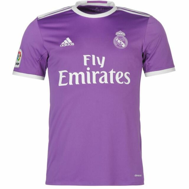 ADIDAS REAL AWAY JSY T-SHIRT OFFICIAL REAL MADRID SECOND 2017 WHITE AI5158 8eaf8f0d524f4
