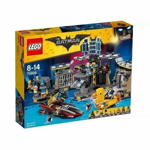 Lego Batman Batcave Break in Building Toy With 4 4 4 Minifigures Bruce Movie Set 20e450
