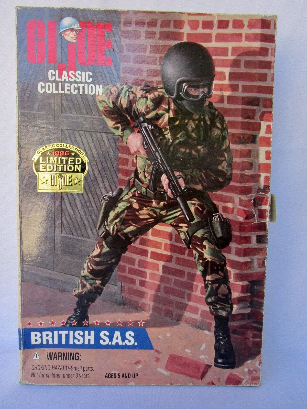 GI  Joe 12 Inch     British S.A.S.   Sealed In Box b728af