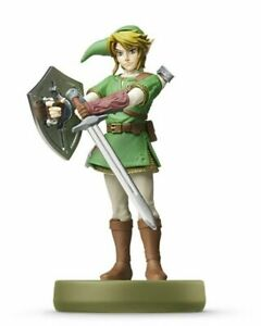 Nintendo-amiibo-Link-The-Legend-of-Zelda-Twilight-Princess-Free-Shipping-Japan