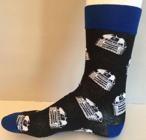 Véritable DISNEY STAR WARS R2D2 DROID socks men/'s 6-12