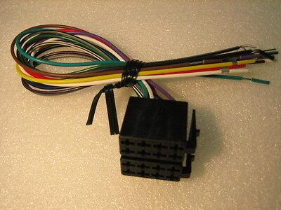 WIRE HARNESS PLUG PYLE AUDI LEGACY FUSION MERCEDES VR3 LANZAR POWER  ACOUSTIK | eBay | Vr3 Car Stereo Wiring Harness |  | eBay