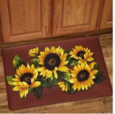 Anti Fatigue Sunflower Kitchen Mat Memory Foam Rug 18 X 30 Home Latex Free  Bath