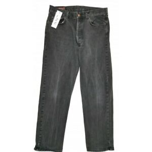 Details zu Marlboro Classics for strength Jeans Herren Schwarz W34 L30 Hose ORIGINAL