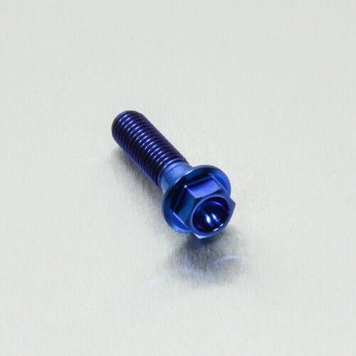 x 30mm Blue Pro-Bolt Titanium Hex Head M8 x 1.25mm