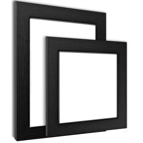 BLACK PICTURE FRAME POSTER PHOTO FRAME WOODEN EFFECT VARIOUS SIZES AVAILABLE