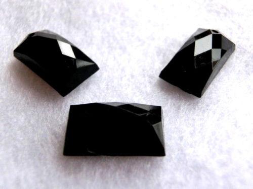 14 x 9 mm negro Pedrería aufnähen piedras fosforescentes aufnähsteine rectángulo aprox