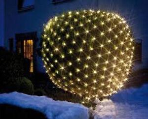 Beleuchtung Hecke | Led Lichternetz Fassaden Pavillon Hecken Beleuchtung 240 Warmweiss