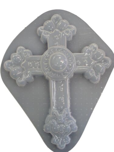 Moldcreations Huge Decorative Cross Plaster or Concrete Mold 7000